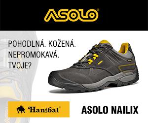 Turistické boty Asolo s goretexovou membránou